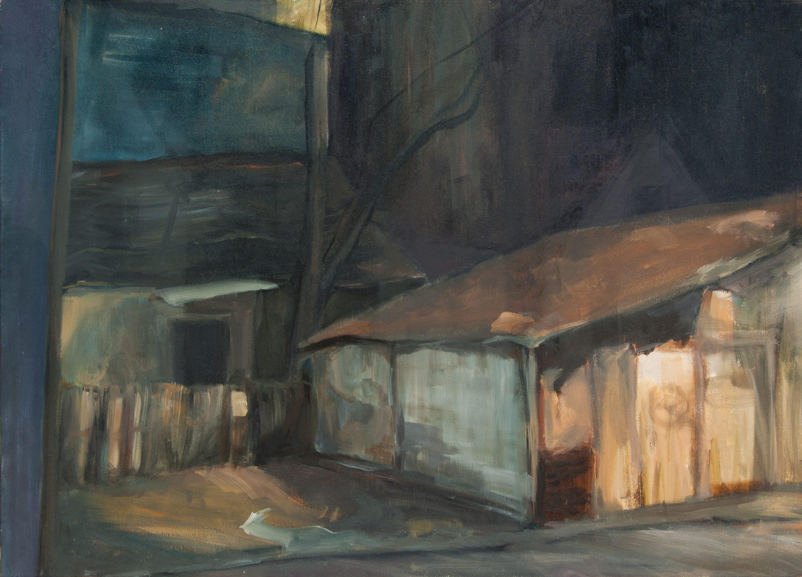 Ivanovic Milena Oil on canvas Dorcol
